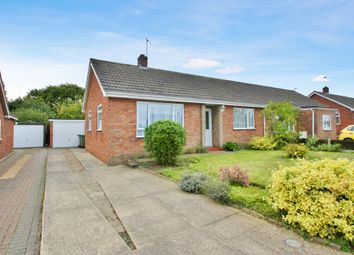 Thumbnail 2 bedroom semi-detached bungalow for sale in Grant Road, Spixworth, Norwich