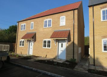 Thumbnail 2 bedroom semi-detached house for sale in Abbots Way, Scothern, Lincoln