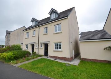Thumbnail 4 bed semi-detached house for sale in Rhodfa'r Ceffyl, Carway, Kidwelly