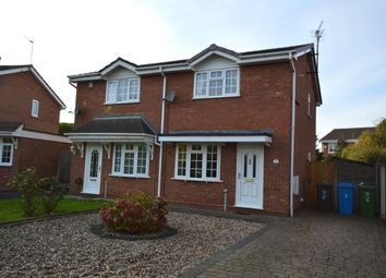 Thumbnail 2 bed semi-detached house to rent in The Cartway, Perton, Wolverhampton