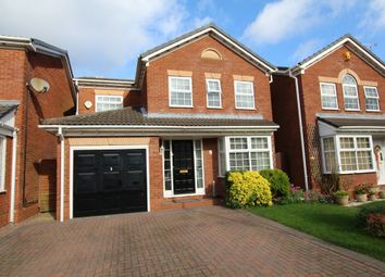 Thumbnail 4 bed detached house for sale in Aysgarth Close, Nuneaton