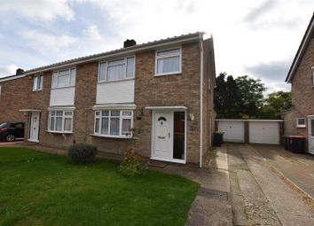 Thumbnail 3 bedroom semi-detached house to rent in Salcombe Close, Bedford