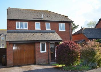 Thumbnail 4 bed detached house for sale in Trumps Orchard, Cullompton