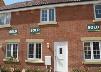 Thumbnail 2 bed terraced house to rent in The Sidings, Cranwell Village, Sleaford