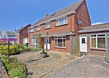 Thumbnail 4 bed semi-detached house for sale in Meadow Way, Littlehampton, West Sussex
