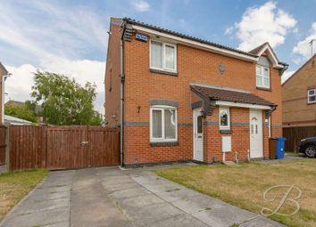 Thumbnail 2 bed semi-detached house for sale in Loxley Drive, Mansfield
