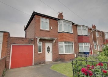 Thumbnail 3 bed semi-detached house for sale in Mill Hill Road, East Denton, Newcastle Upon Tyne