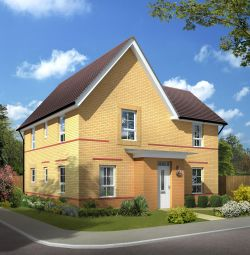 "Thumbnail 4 bedroom detached house for sale in ""Lincoln"" at Lanelay Road, Talbot Green, Pontyclun"