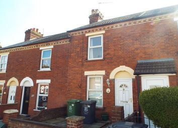 Thumbnail 2 bed terraced house to rent in Gorleston, Great Yarmouth