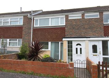 Thumbnail 3 bed terraced house for sale in Glebe Drive, Gosport
