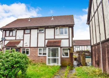 Thumbnail 3 bed semi-detached house for sale in Brackla Way, Brackla, Bridgend.