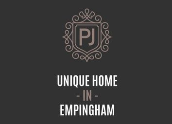 Thumbnail 6 bed detached house for sale in Main Street, Empingham, Oakham