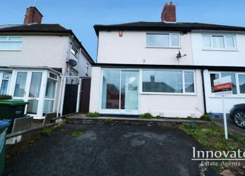 Thumbnail 3 bed semi-detached house for sale in Warwick Road, Oldbury