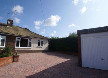 Thumbnail 2 bed bungalow to rent in Byron Close, Ludgershall, Andover