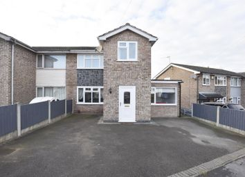 Thumbnail 3 bed property for sale in Priory Close, Thringstone, Coalville