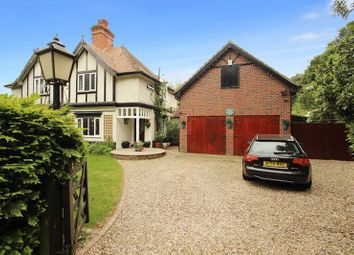 Thumbnail 4 bedroom semi-detached house for sale in Watton Road, Colney, Norwich