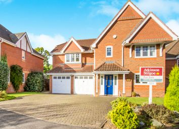 Thumbnail 5 bed detached house for sale in Wellfield Close, Balsall Common, Coventry