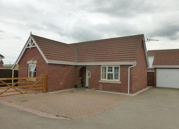 Thumbnail 2 bedroom detached bungalow for sale in Foxglove Way, March