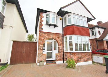 Thumbnail 3 bed detached house to rent in Manor Drive North, Worcester Park