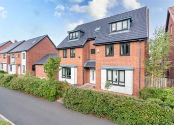Thumbnail 6 bed detached house for sale in Abberwick Walk, Great Park, Newcastle Upon Tyne
