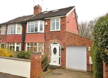 Thumbnail 4 bed semi-detached house for sale in Ridgeway, Roundhay, Leeds