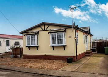 Thumbnail 2 bed mobile/park home for sale in Thorney Road, Eye, Peterborough