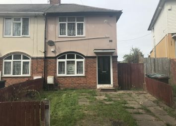 Thumbnail 2 bed semi-detached house to rent in Kendrick Road, Wolverhampton