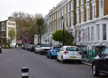 Thumbnail 1 bed flat to rent in Aldebert Terrace, London