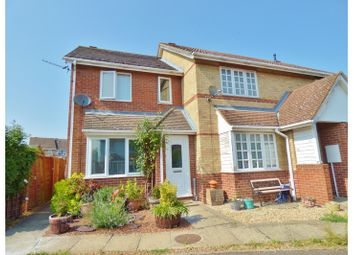 Thumbnail 2 bed end terrace house for sale in Meadow Close, Chatteris, Cambs