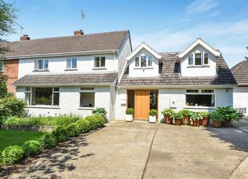 Thumbnail 4 bed semi-detached house for sale in Shawford, Winchester, Hampshire