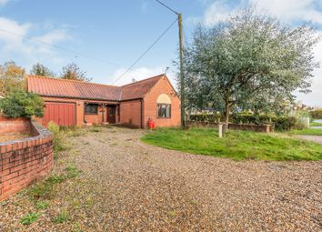 Thumbnail 2 bed detached bungalow for sale in Hall Street, Briston, Melton Constable