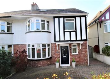 Thumbnail 5 bed semi-detached house for sale in Venn Grove, Mannamead, Plymouth