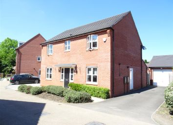 Thumbnail 4 bed detached house for sale in Usbourne Way, Ibstock, Leicestershire