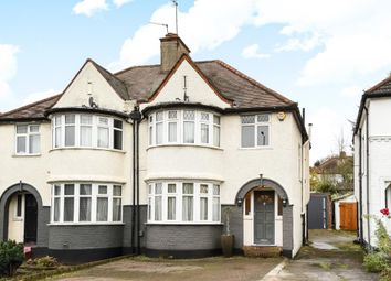Thumbnail 3 bed semi-detached house for sale in Great North Way, Hendon NW4,