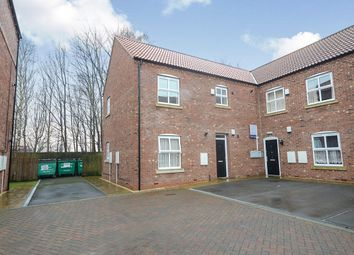 Thumbnail 1 bed flat to rent in Station Court, Ricall, York