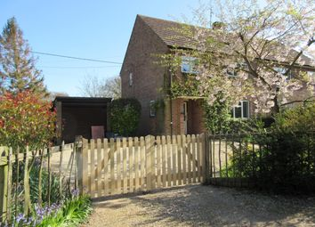 Thumbnail 3 bed semi-detached house to rent in School Road, Ardington, Wantage