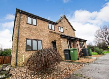 Thumbnail 2 bedroom terraced house for sale in Norman Drive, Stilton, Peterborough