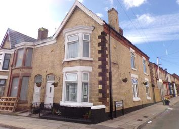 Thumbnail 3 bed end terrace house for sale in Webster Road, Wavertree, Liverpool, Merseyside