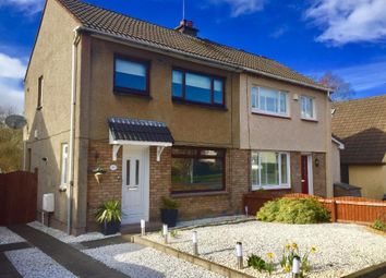 Thumbnail 2 bed semi-detached house for sale in Larkfield Road, Lenzie