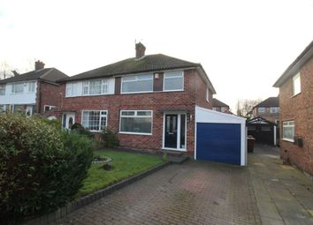 Thumbnail 3 bed semi-detached house for sale in Alderdale Road, Cheadle Hulme, Cheadle