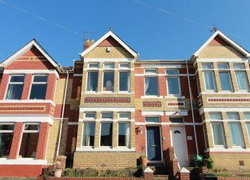 Thumbnail 4 bedroom terraced house for sale in Morden Road, Newport