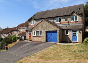 Thumbnail 3 bed semi-detached house for sale in Nant Glas, Penllergaer, Swansea