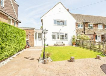 Thumbnail 3 bed semi-detached house for sale in Gibraltar Crescent, Ewell, Epsom
