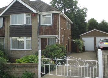 Thumbnail 3 bed semi-detached house to rent in Meadow Park Crescent, Pudsey, Leeds