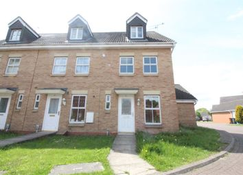Thumbnail 3 bed end terrace house for sale in Philip Larkin Close, Hull