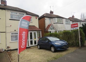 Thumbnail 2 bedroom semi-detached house for sale in Lower White Road, Quinton, Birmingham