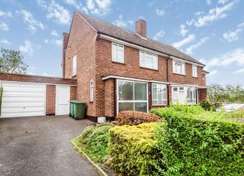 Thumbnail 3 bed semi-detached house for sale in Meriden Way, Watford, Hertfordshire, .