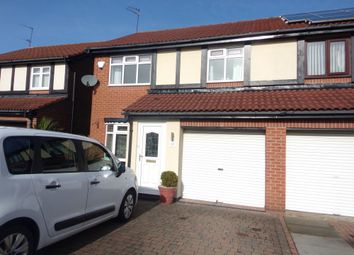 Thumbnail 3 bed semi-detached house for sale in Inglewood Close, Blyth