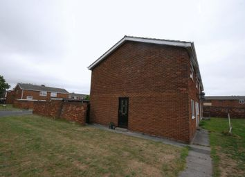 Thumbnail 2 bed flat for sale in Essex Close, Ashington