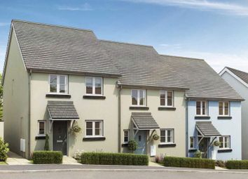 Thumbnail 3 bed terraced house for sale in Church Walk, Exeter Road, Newton Abbot